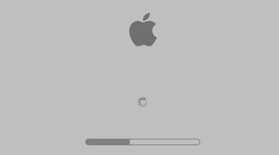why is my mac stuck on the loading screen